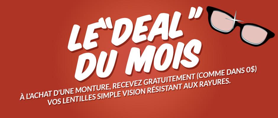 Lentilles simple vision résistant aux rayures gratuites!